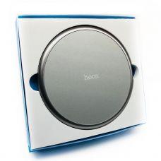Беспроводное зарядное устройство Hoco Round Серая