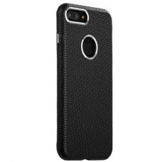 Чехол i-Carer Transformer Real Leather Woven Pattern Back Cove для iPhone 7/ 8 Черный