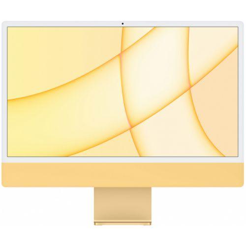 """Apple iMac 24"""" Retina 4,5K, M1 (8-core GPU), 8 ГБ, 256 ГБ (жёлтый)"""