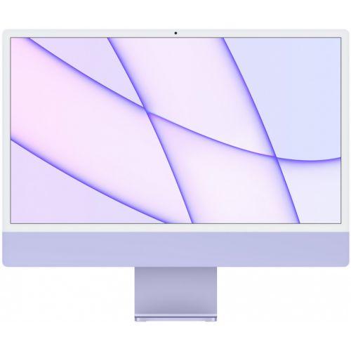 """Apple iMac 24"""" Retina 4,5K, M1 (8-core GPU), 8 ГБ, 512 ГБ (сиреневый)"""