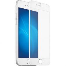 Стекло защитное 5D для iPhone 6/ 6s Белое