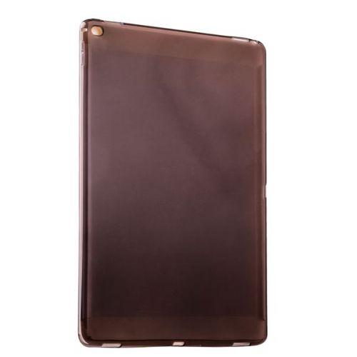 """Чехол силиконовый для iPad Pro (12.9"""") 2017г. Прозрачный-черный"""