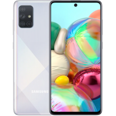 Samsung Galaxy A71 128GB Серебристый (RU)