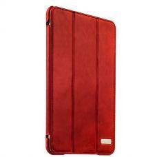 Чехол кожаный i-Carer для iPad mini 4 Vintage Series Красный