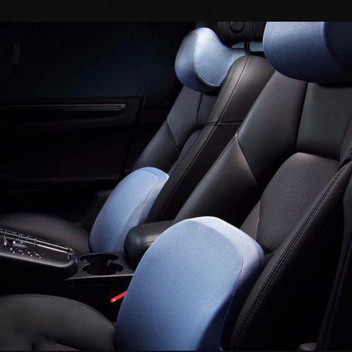 Ортопедическая автомобильная подушка для шеи и поясницы Xiaomi Roidmi R1 Set Blue