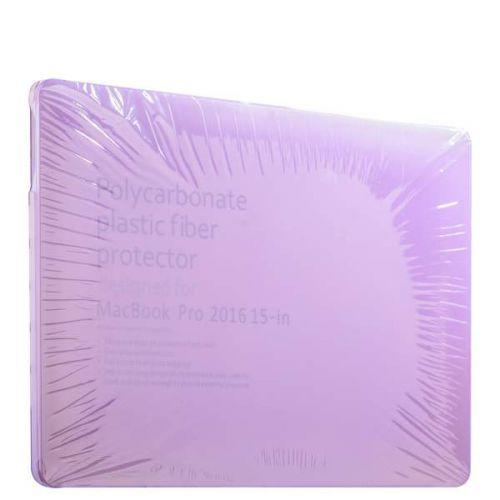 "Защитный чехол-накладка BTA-Workshop для MacBook Pro 15"" Touch Bar (2016г.) матовая фиолетовая"