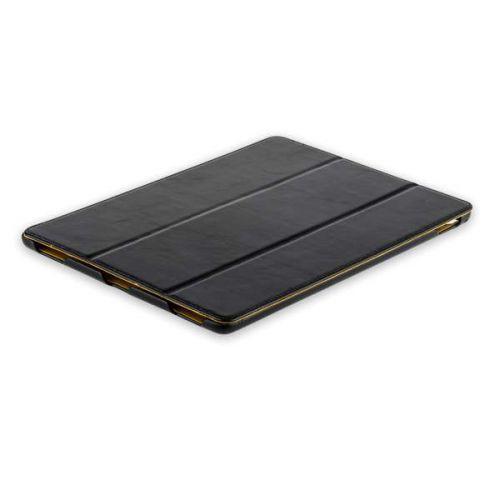 """Чехол кожаный i-Carer iPad Pro (12.9"""") 2017года Vintage Series Черный"""