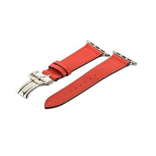 Ремешок кожаный COTEetCI Fashion застёжка «бабочка» для Apple Watch 38мм