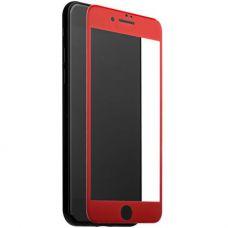 Стекло защитное 5D для iPhone 7/ 8 Красное