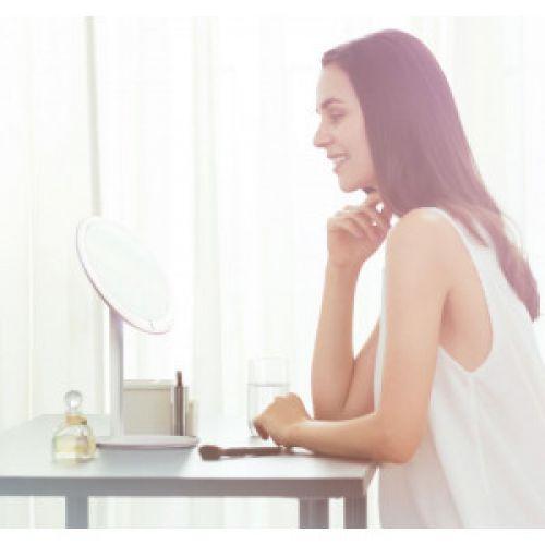 Зеркало для макияжа Xiaomi Amiro Lux High Color White
