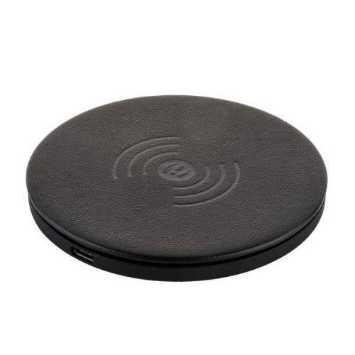 Беспроводное зарядное устройство i-Carer Microfiber Leather Fast Черный