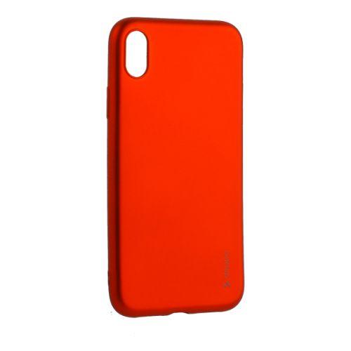 Чехол силикон Deppa Gel Color Case для iPhone XR Красный металик