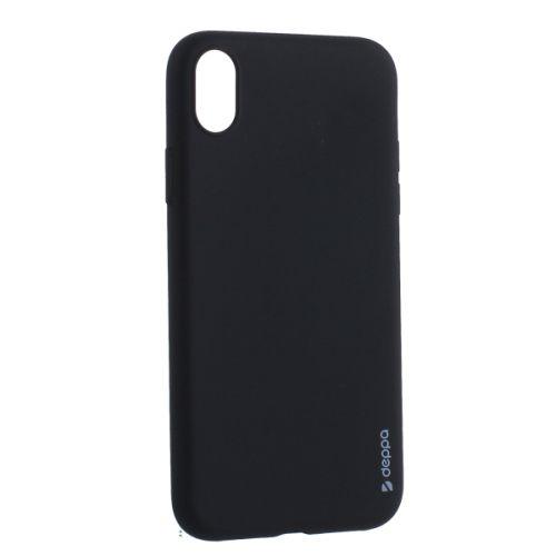 Чехол силикон Deppa Gel Color Case для iPhone XR 0.8мм Черный