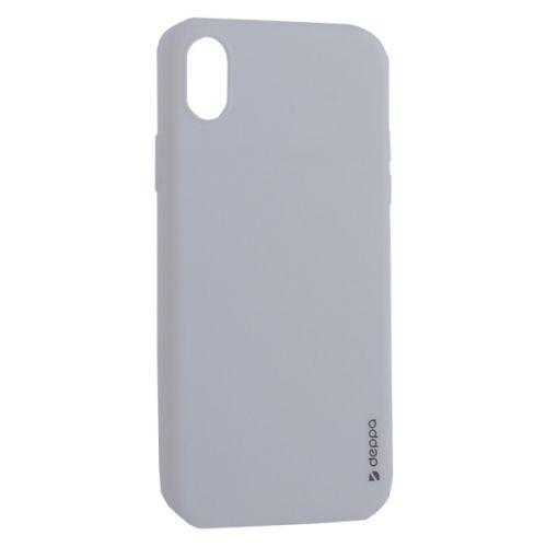 Чехол силикон Deppa Gel Color Case для iPhone XR 0.8мм Белый