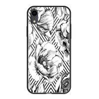 Чехол закаленное стекло Deppa Glass для iPhone XR Белый