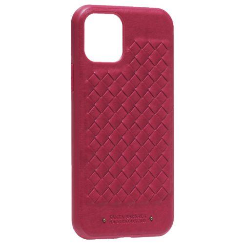 Накладка кожаная Santa Barbara Polo&Racquet Club Ravel Series для iPhone 11 Pro Красная