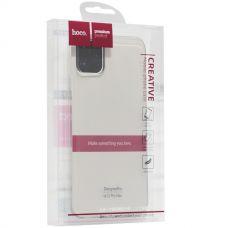Чехол силиконовый Hoco Light Series для iPhone 11 Pro Max Дымчатый