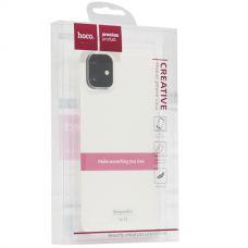 Чехол силиконовый Hoco Light Series для iPhone 11 Прозрачный