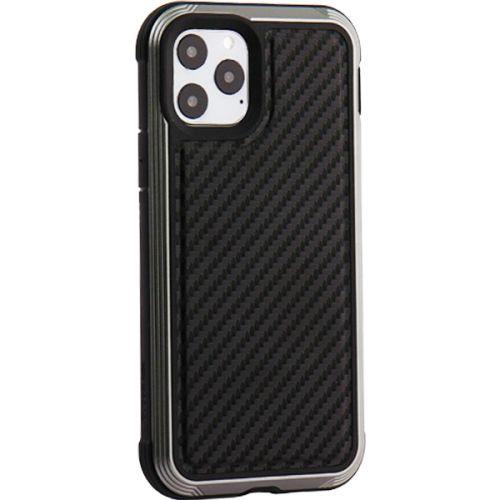 Чехол-накладка противоударный X-DORIA Defense Lux карбон для Iphone 11 Pro Черный