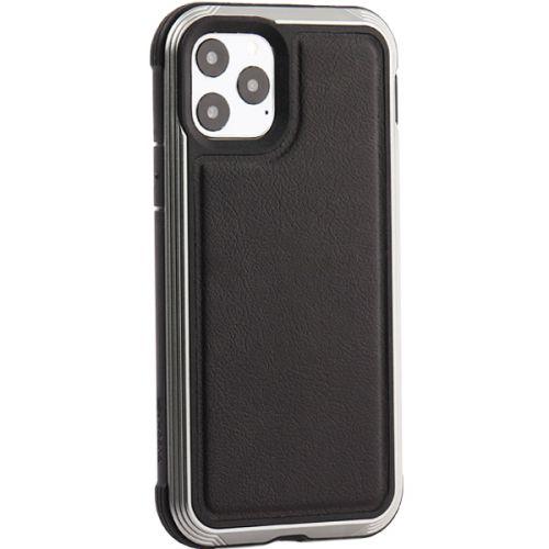 Чехол-накладка противоударный X-DORIA Defense Lux кожа для Iphone 11 Pro Черный