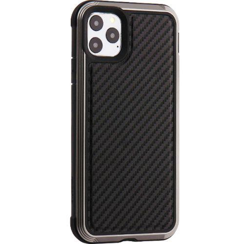 Чехол-накладка противоударный X-DORIA Defense Lux карбон для Iphone 11 Pro Max Черный