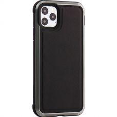 Чехол-накладка противоударный X-DORIA Defense Lux кожа для Iphone 11 Pro Max Черный