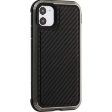Чехол противоударный X-DORIA Defense Lux кожа для Iphone 11Черный