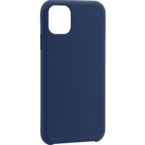 Чехол-накладка силиконовый TOTU Brilliant Series Silicone Case для iPhone 11 Синий