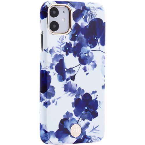 Чехол-накладка KINGXBAR для iPhone 11 пластик со стразами Swarovski (Орхидея)