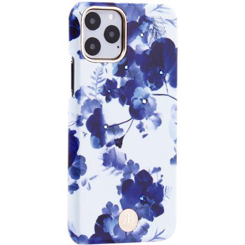 Чехол-накладка KINGXBAR для iPhone 11 Pro пластик со стразами Swarovski (Орхидея)