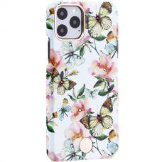 Чехол-накладка KINGXBAR для iPhone 11 Pro пластик со стразами Swarovski (Бабочки)