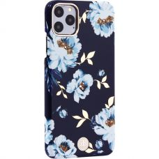 Чехол-накладка KINGXBAR для iPhone 11 Pro Max пластик со стразами Swarovski (Гардения)
