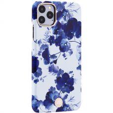 Чехол-накладка KINGXBAR для iPhone 11 Pro Max пластик со стразами Swarovski (Орхидея)