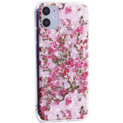 Чехол-накладка пластиковый Fashion Case для iPhone 11 с силиконовыми бортами Розовый вид №2