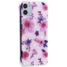 Чехол-накладка пластиковый Fashion Case для iPhone 11 с силиконовыми бортами Розовый вид №4