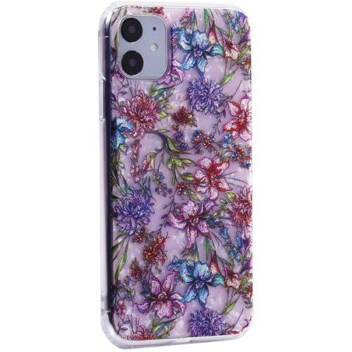 Чехол-накладка пластиковый Fashion Case для iPhone 11 с силиконовыми бортами Розовый вид №6