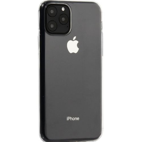 Чехол-накладка силикон Deppa Gel Case Basic для iPhone 11 Pro Max 0.8мм Прозрачный