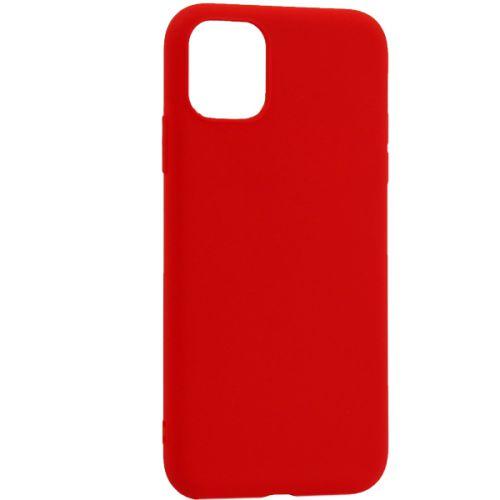 Чехол-накладка силикон Deppa Gel Color Case Basic для iPhone 11 0.8мм Красный