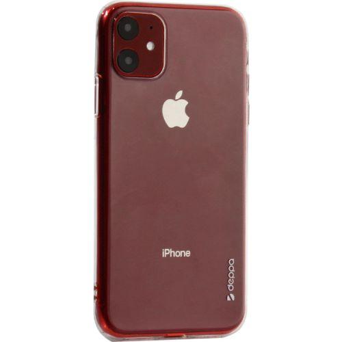Чехол-накладка силикон Deppa Gel Case для iPhone 11 1.0мм Прозрачный