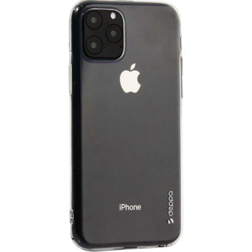 Чехол-накладка силикон Deppa Gel Case для iPhone 11 Pro Max 1.0мм Прозрачный
