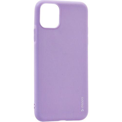 Чехол-накладка силикон Deppa Gel Color Case для iPhone 11 1.0мм Лавандовый
