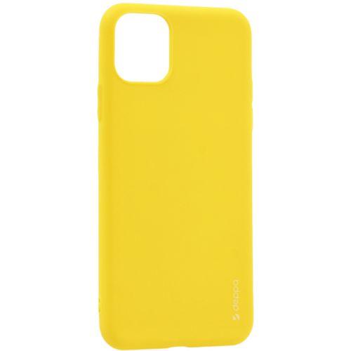 Чехол-накладка силикон Deppa Gel Color Case для iPhone 11 1.0мм Желтый