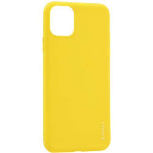 Чехол-накладка силикон Deppa Gel Color Case для iPhone 11 Pro 1.0мм Желтый