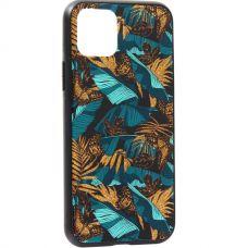 Чехол-накладка закаленное стекло Deppa Glass Case для iPhone 11 Pro 2.0мм Джунгли