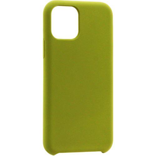 Чехол-накладка силикон Deppa Liquid Silicone Case для iPhone 11 1.5мм Оливковый