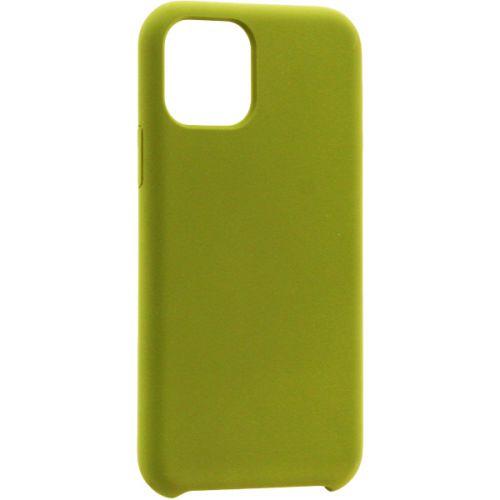 Чехол-накладка силикон Deppa Liquid Silicone Case для iPhone 11 Pro Max 1.5мм Оливковый