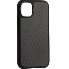 Чехол Black Rock Carbone для iPhone 11 противоударный Черный