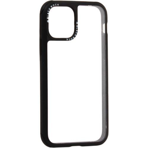 Чехол-накладка закаленное стекло Black Rock Robust Transparent Case для iPhone 11 Pro силиконовый борт Черный