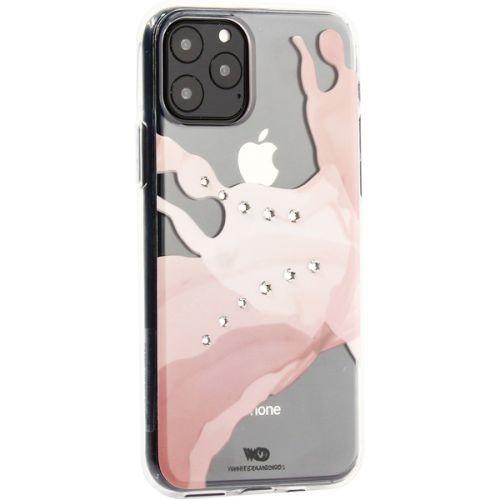 Чехол-накладка White Diamonds Liquids пластик для iPhone 11 Pro с кристаллами Swarovski Прозрачный