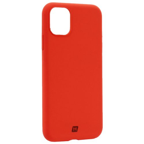 Чехол-накладка силикон Momax Silky & Soft Silicone Case для iPhone 11 Оранжевый